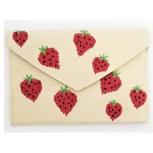 Handbags - BRAND NEW * STRAWBERRY HANDBAG